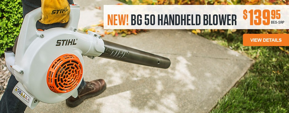 NEW! BG 50 Handheld Blower